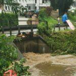 Fröndenberg ist ebenfalls vom Hochwasser betroffen